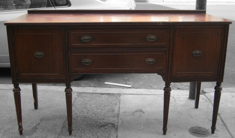 uhuru furniture collectibles mahogany 1940 39 s buffet sold. Black Bedroom Furniture Sets. Home Design Ideas