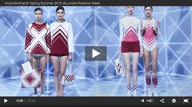Anya Hindmarch SS16 @ London Fashion Week video