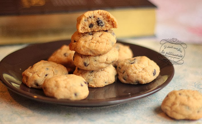 Cookies au beurre de cacahu te il tait une fois la p tisserie - Cookies beurre de cacahuete ...