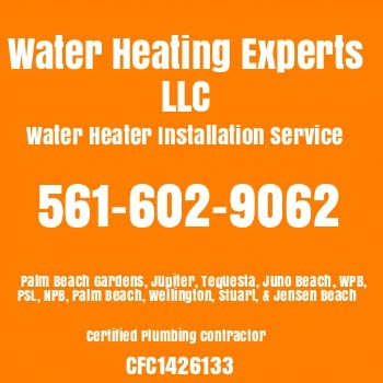 Call Us For Water Heater Installation