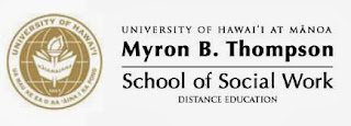 UH-Manoa Myron B. Thompson School of Social Work Distance Education logo