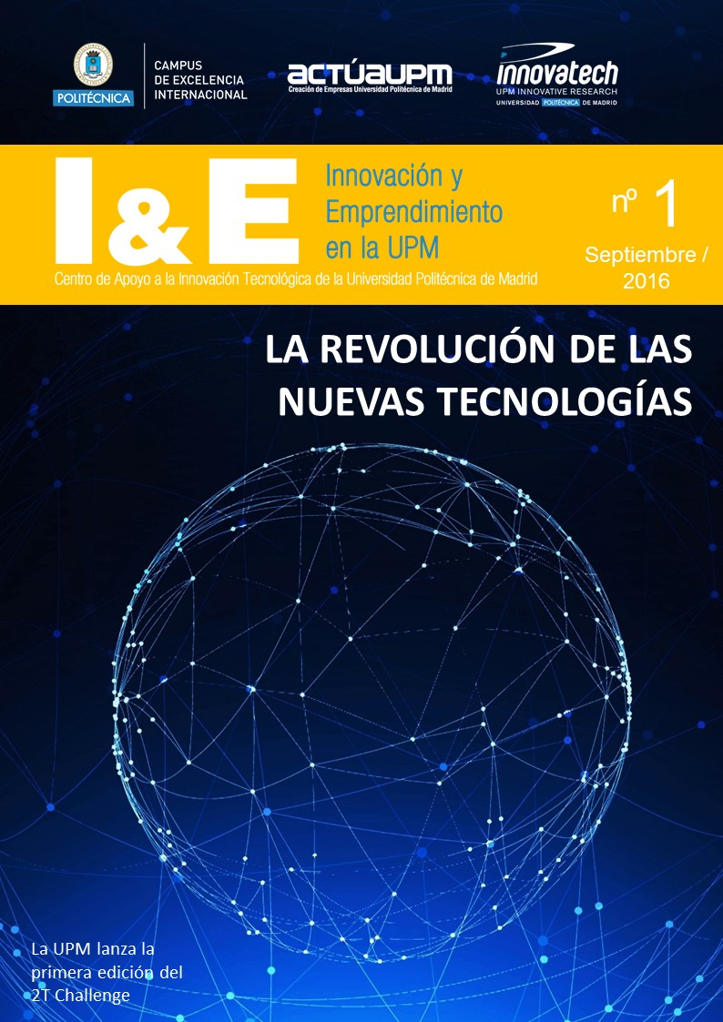 Nº1. I&E INNOVACIÓN Y EMPRENDIMIENTO EN LA UPM (SEPTIEMBRE 2016)