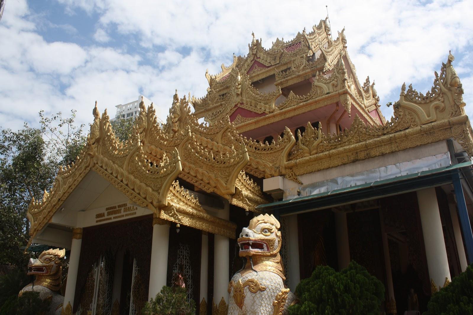 jalanjalan: Burmese Temple, Penang