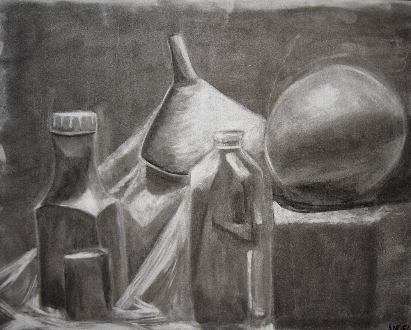 how to make charcoal for drawing