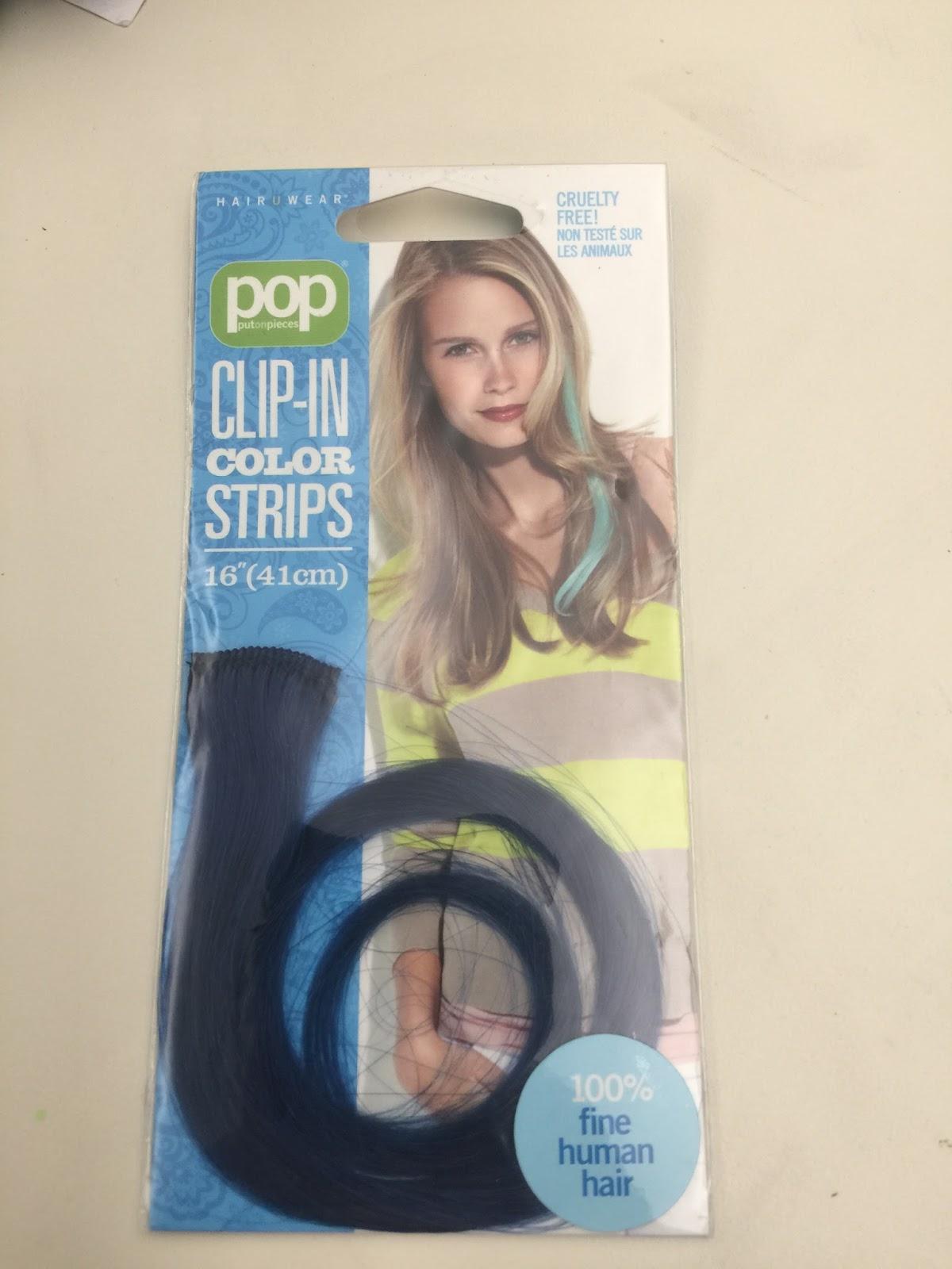 Pop Clip in Color Strips