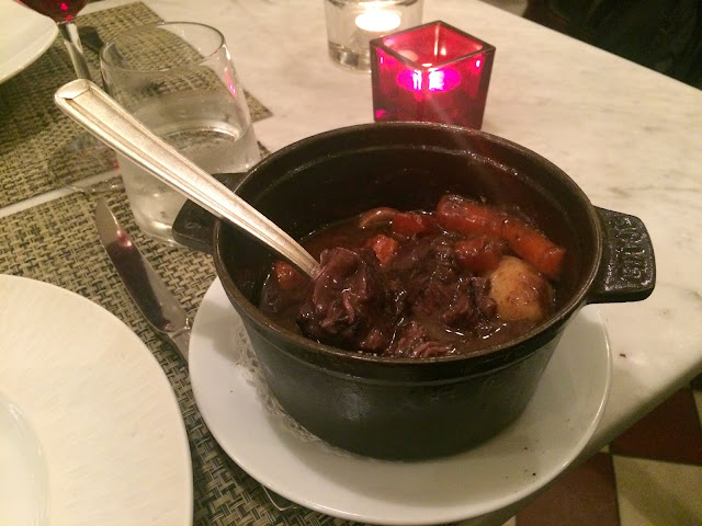 Beef bourguignon at Le P'tit Troquet, Paris