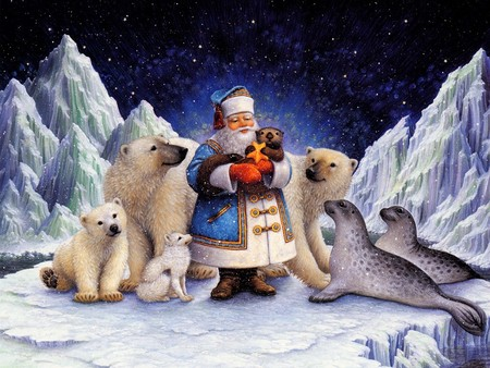 Northpole Christmas Wallpapers Hd Wallpapers High