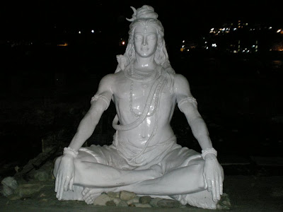 White Lord Shiva