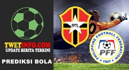 Prediksi Timor Leste U16 vs Philippines U16, AFC U16 14-09-2015