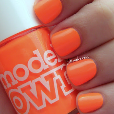 Models Own Orange Sorbet swatch