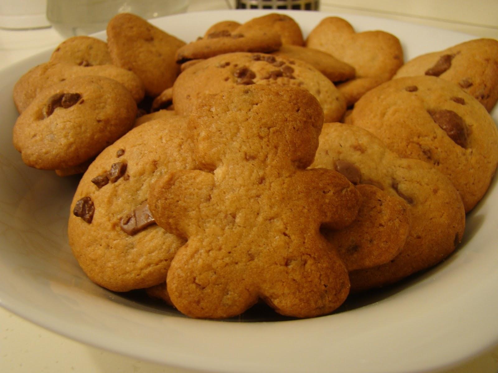 Печенье с шоколадной крошкой - пошаговый рецепт с фотографиями