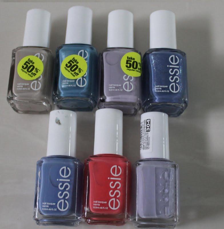 The Dark Side of Beauty: Haul: CVS Essie Nail Polishes