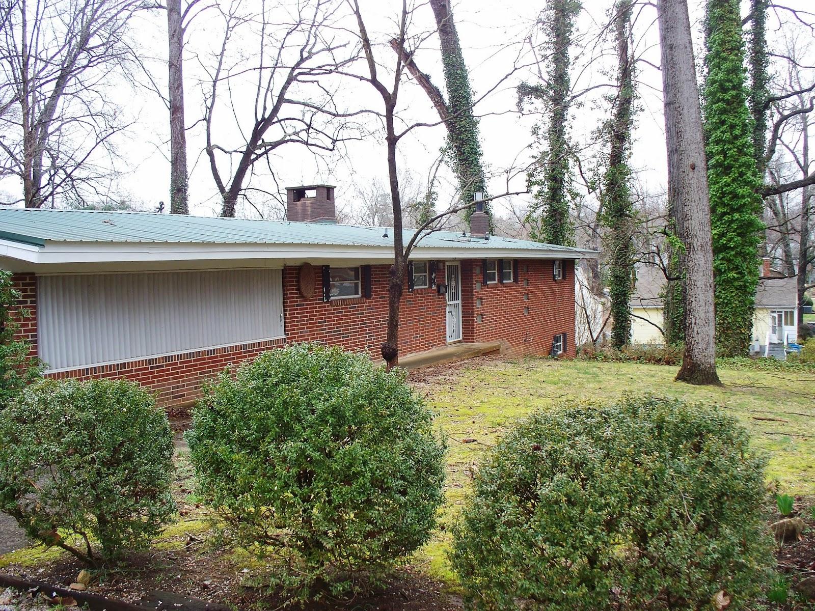 Salisbury, North Carolina Real Estate: Mid-Century Modern Brick ...