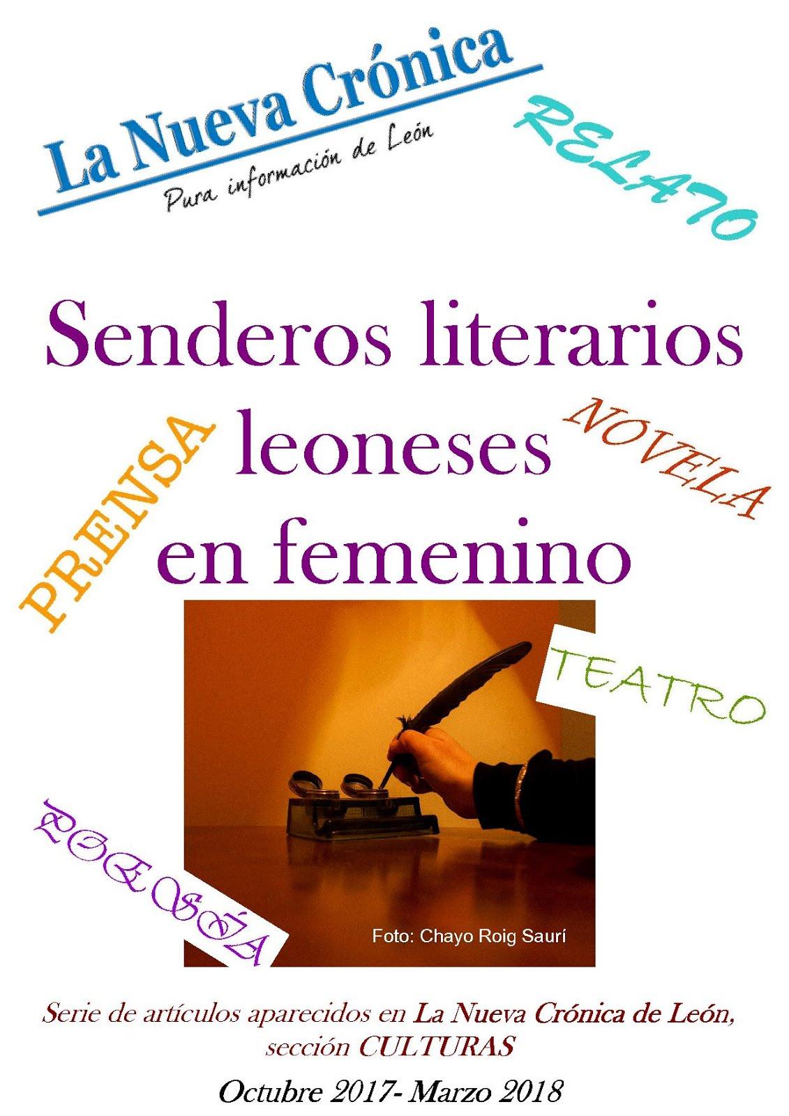 Serie. SENDEROS LITERARIOS LEONESES EN FEMENINO