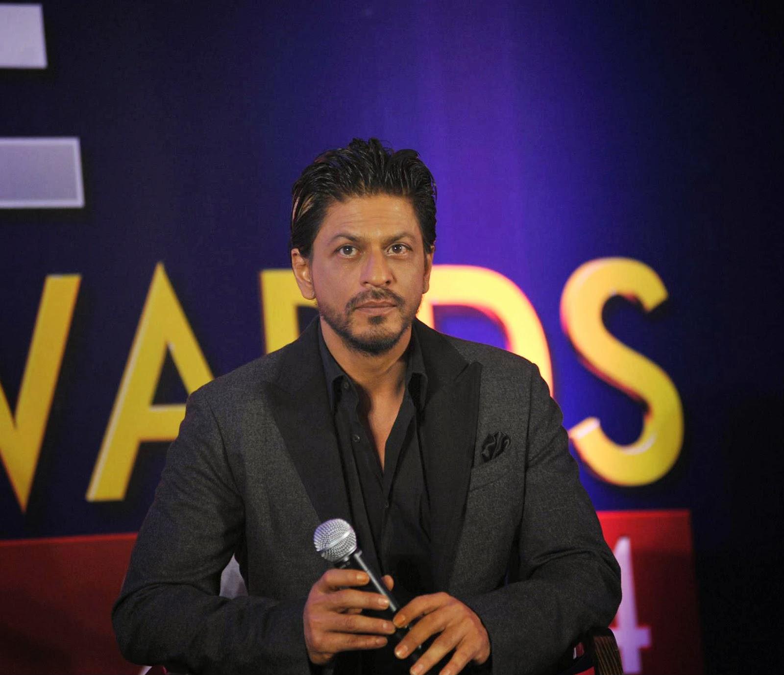Shahrukh Khan At Zee Cine Awards Press Meet