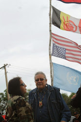 Photos Oglala President arrested at White Clay protest