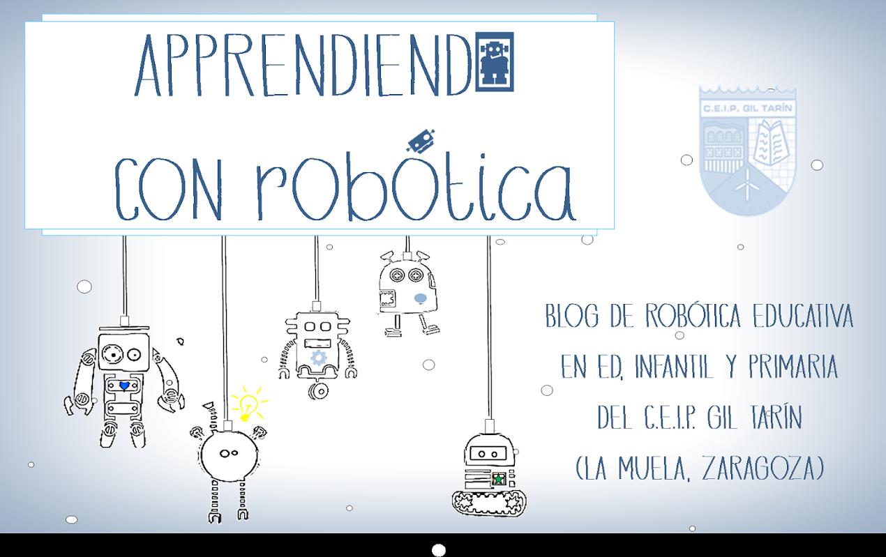 APPRENDIENDO CON ROBOTICA
