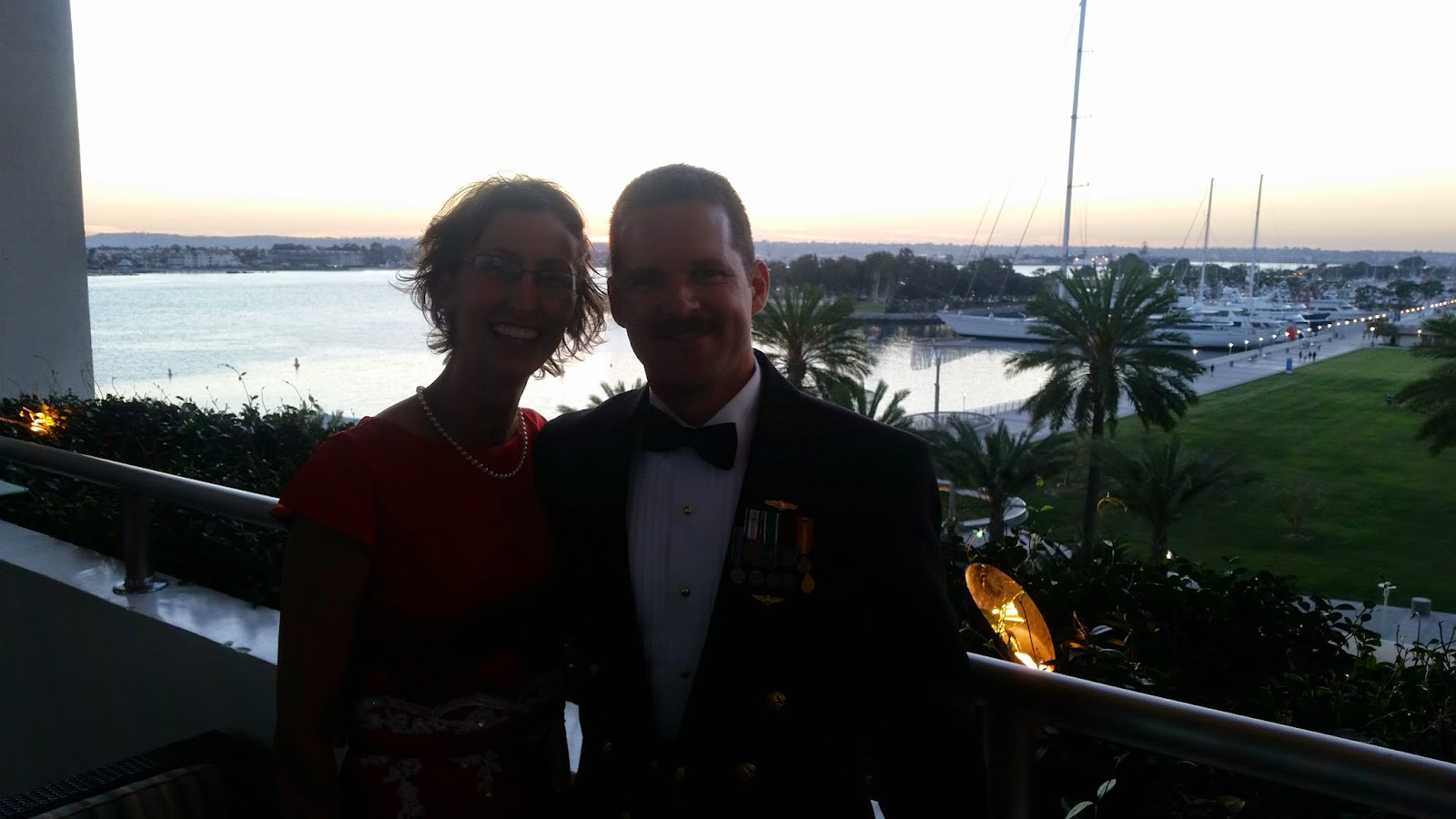 Commander Carrier Strike Group 9 Staff Dining Out 2015 Downtown San Diego