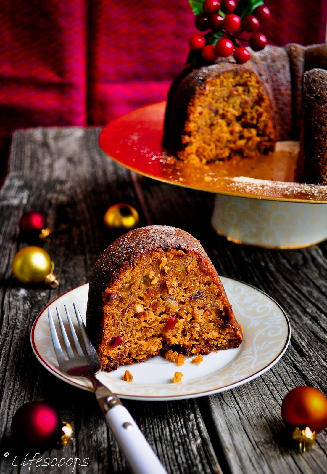 Christmas Fruit Cake Png