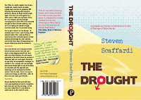 The Drought by Steve Scaffardi, lad lit, chick lit, funny book, men lit, dick lit, chick lit for men, funny book, books for men,