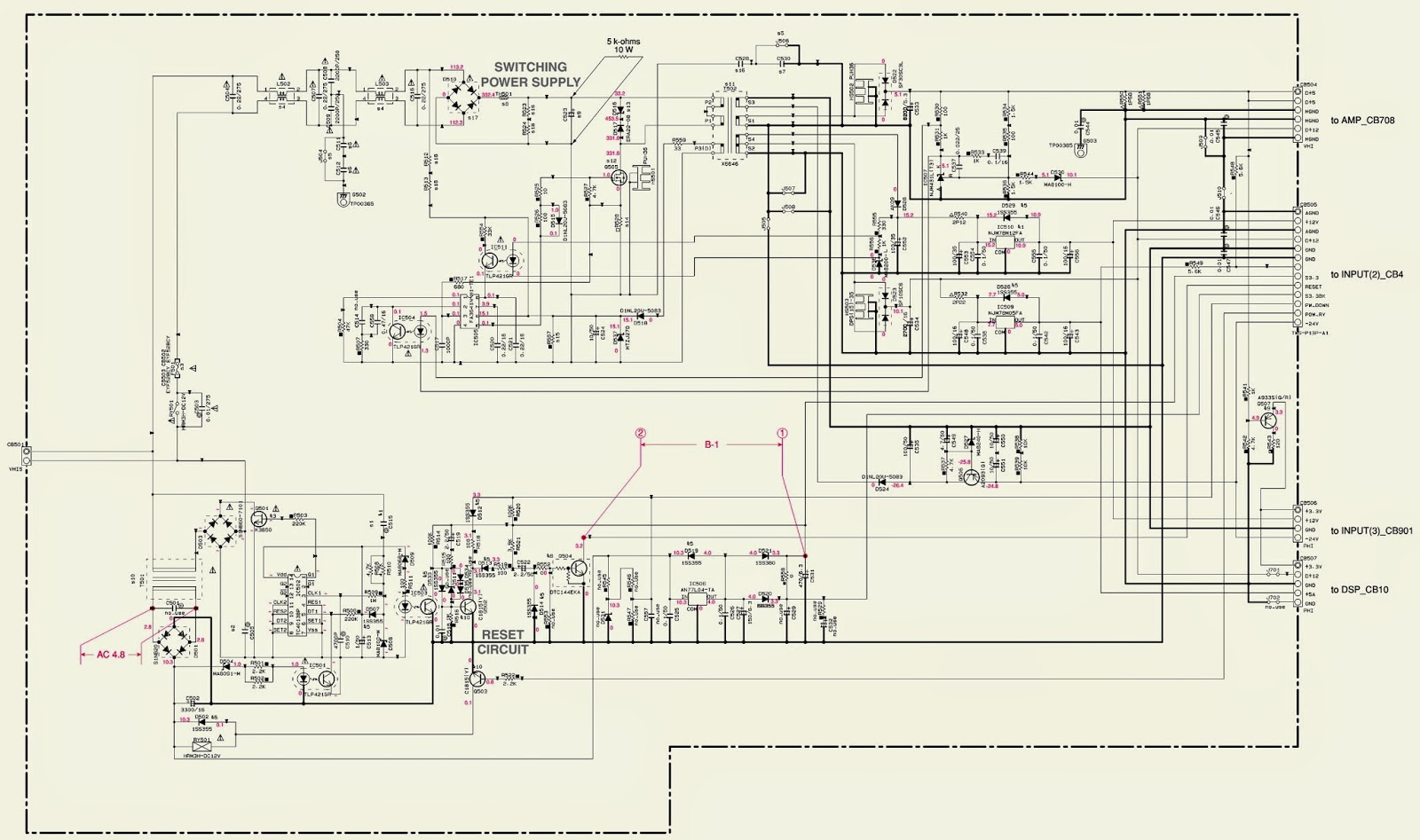 U P S Circuit Diagram Wiring Diagrams 100 Watt Ups Yamaha Ysp 800 Power Smps Schematic Supreme Court Of The United States