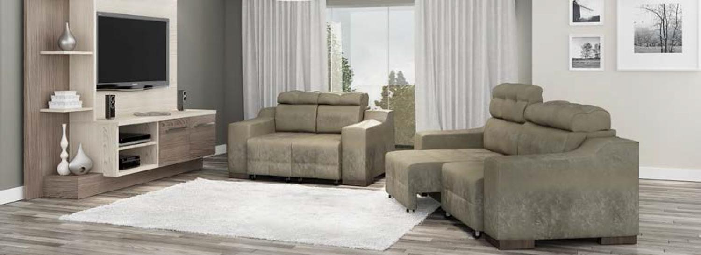 Redlar o sof certo para sua sala for Sofa grande sala pequena