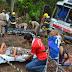Ônibus que saiu de Olho D'Água das Cunhas para São Paulo se envolve em grave acidente