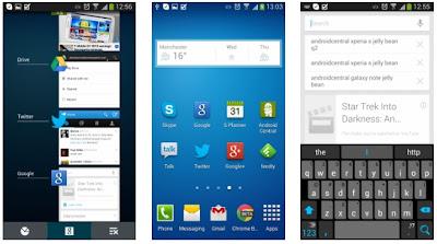 Galaxy S 4 interface