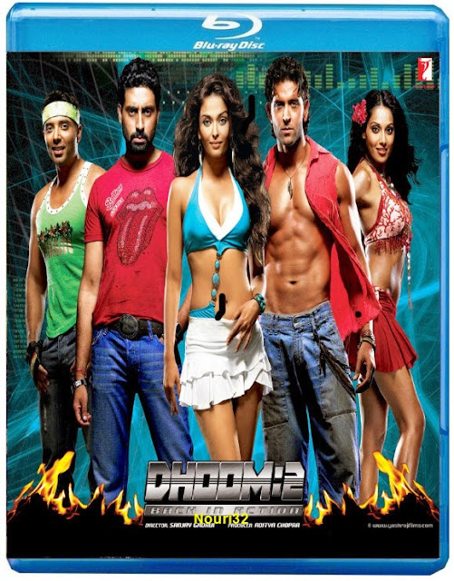 Dhoom 2 2006 BluRay 480p 400mb ESub