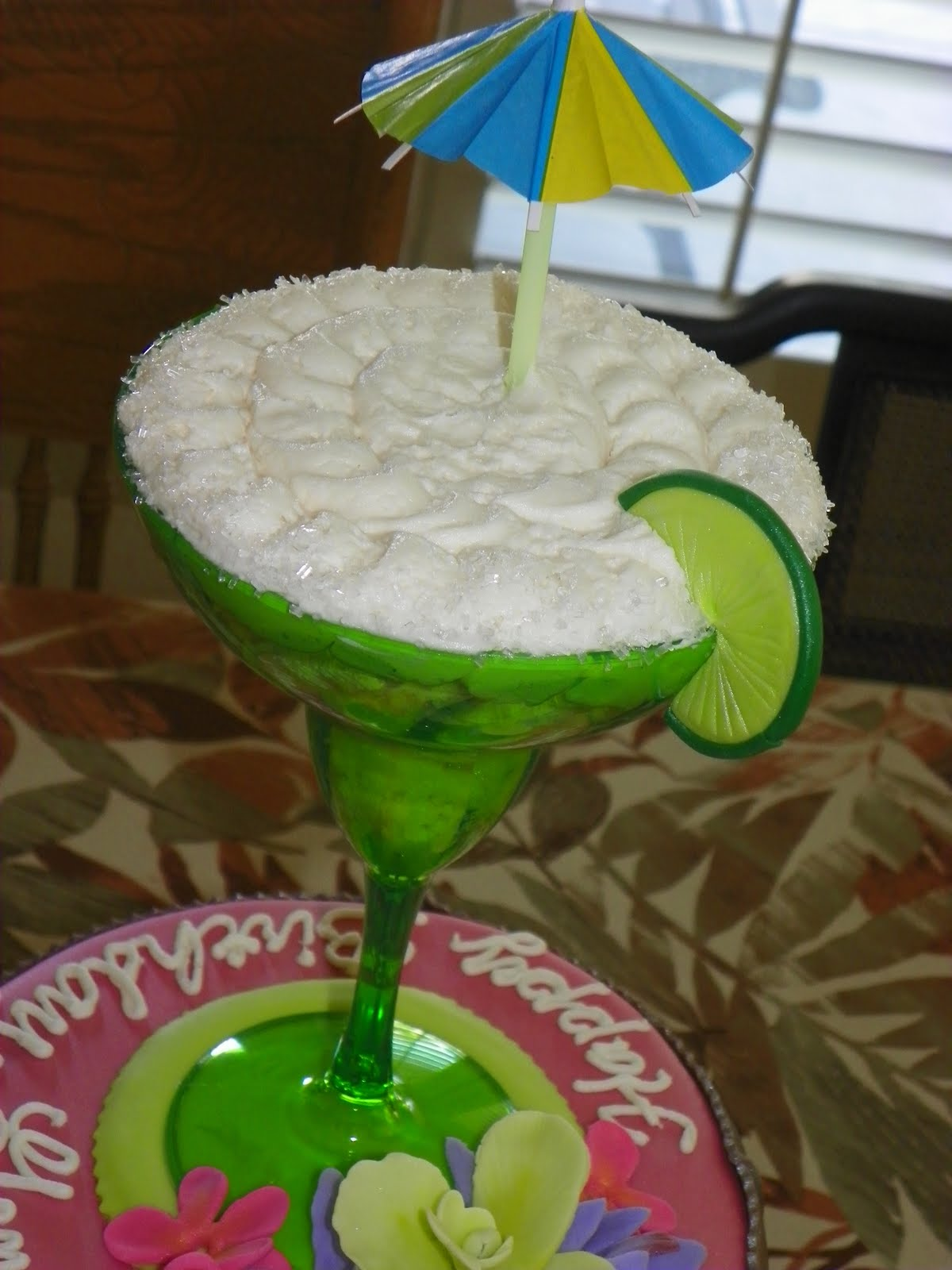 Plumeria Cake Studio: Margarita Hawaiian Cake