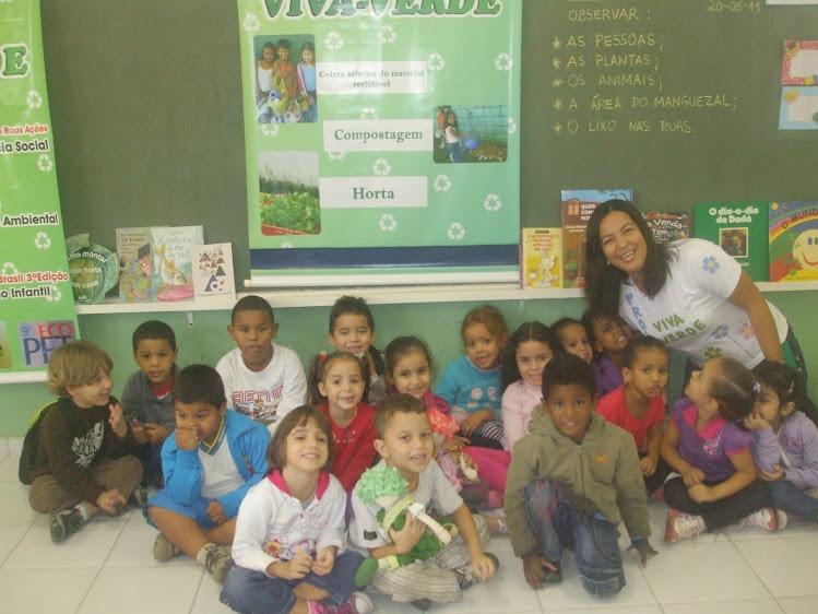 Minha turma do Infantil IV H2 da EM Hermínia Neves Vitiello - 20-05-11