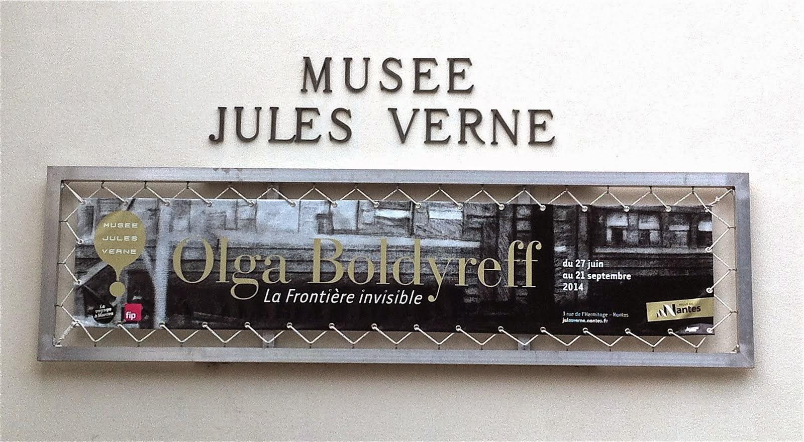 La frontière invisible, Musée Jules Verne, Nantes, 2014