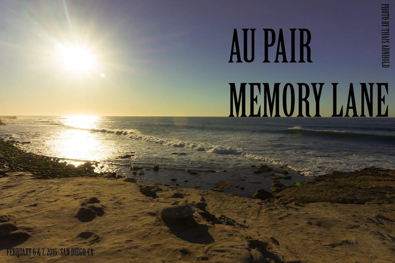 Au Pair Memory Lane