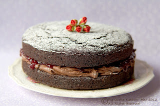 gluten free chocolate and beetroot cake
