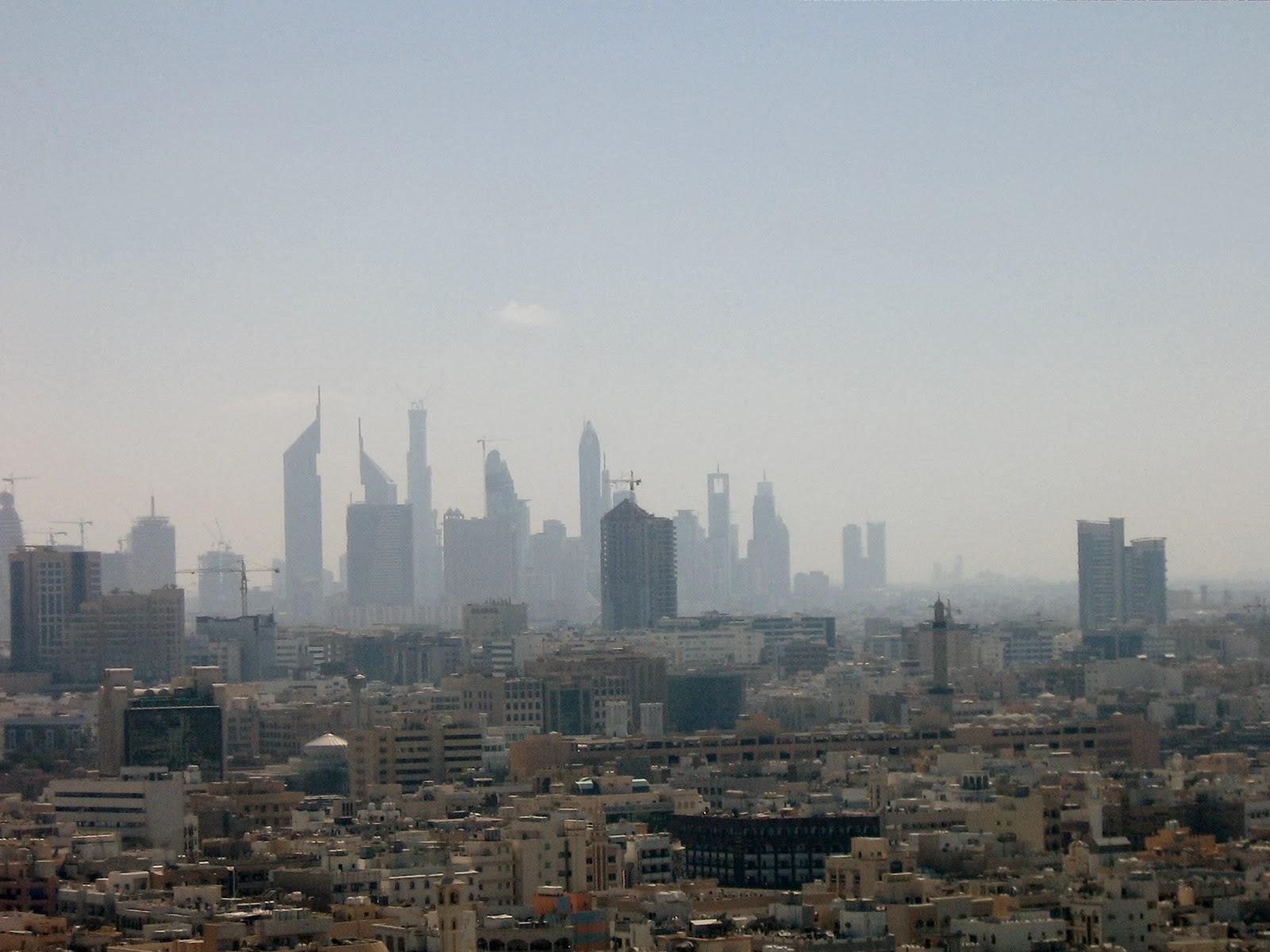 Dubai skyline - photo by Katie @ Second-Hand Hedgehog travel blog