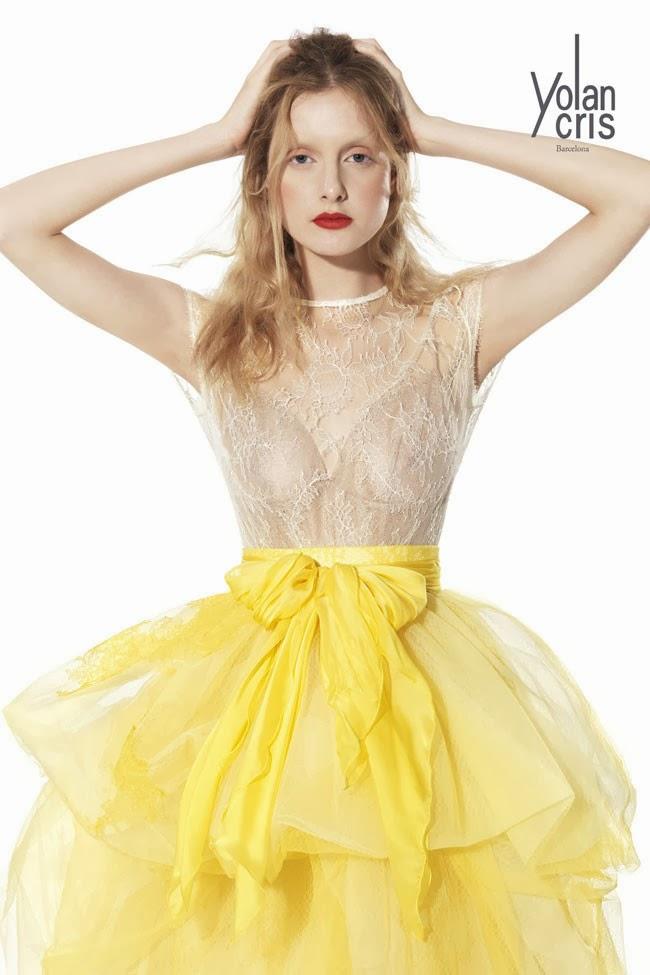 Vestidos de fiesta YolanCris Primavera-Verano 2014