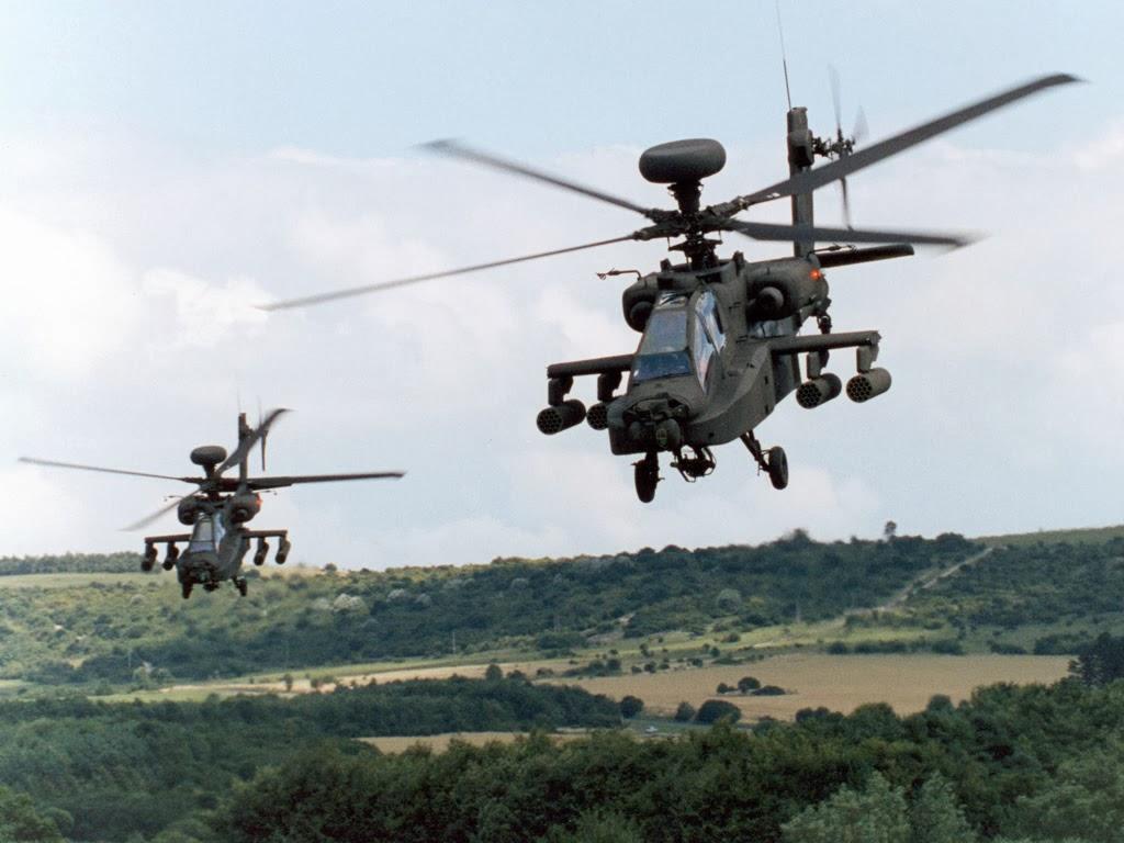 TNI AD Proyeksikan Helikopter Apache Perkuat Pulau Natuna