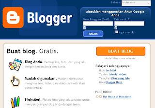 blogspot, blogger, kelebihan blogspot