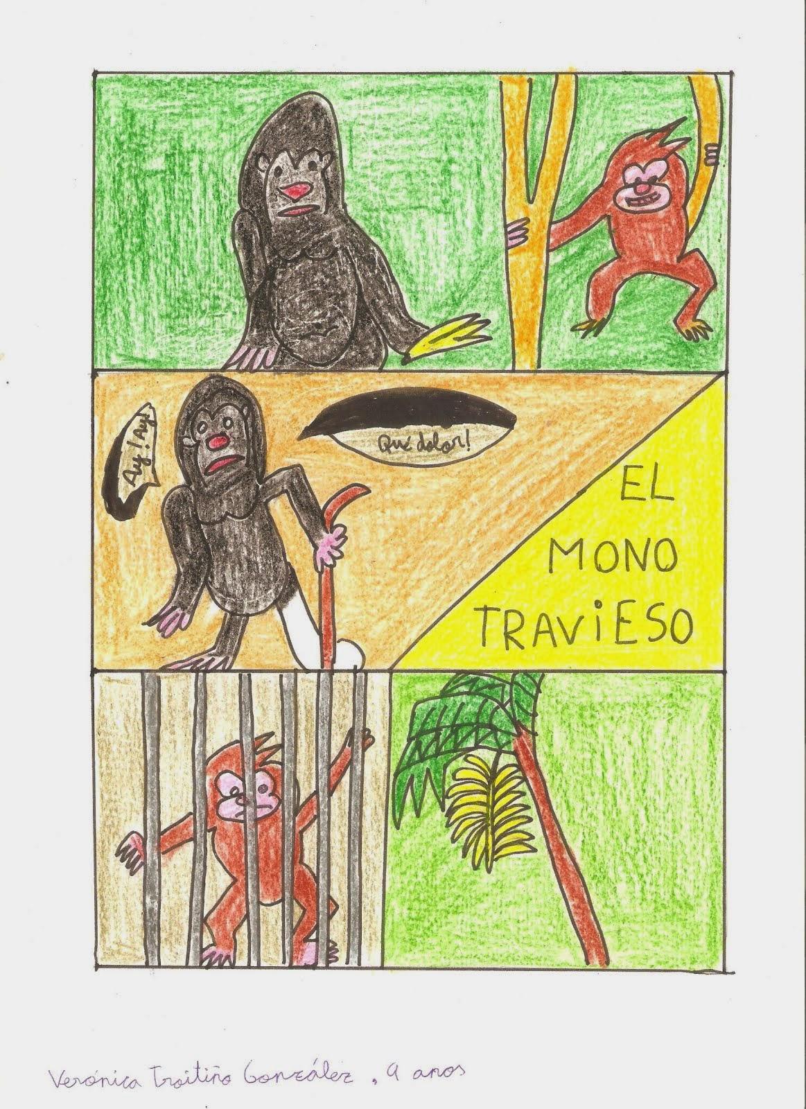 """El mono travieso"""