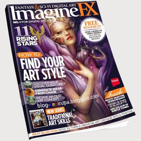 Imagine FX Magazine Issue January 2014