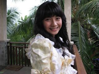 Foto Dinda Kirana kepompong
