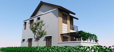 Desain Rumah Minimalis 2 lantai 3