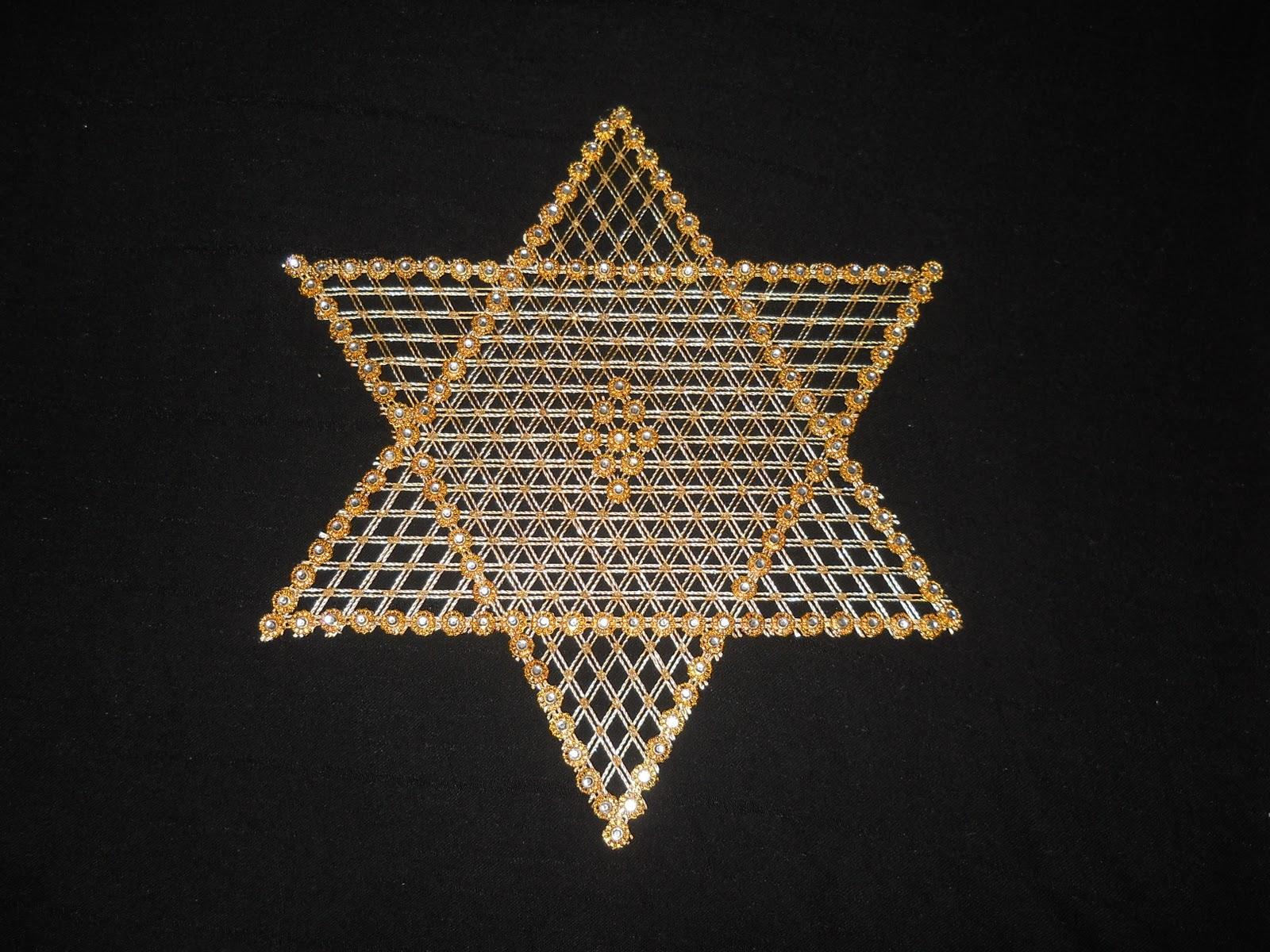 Kasnak işi Yıldız oda takımı (her renkte yapılır ):