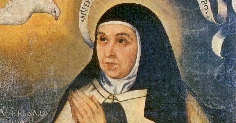 500 jahre teresa von avila das bildnis der heiligen - Teresa von avila zitate ...