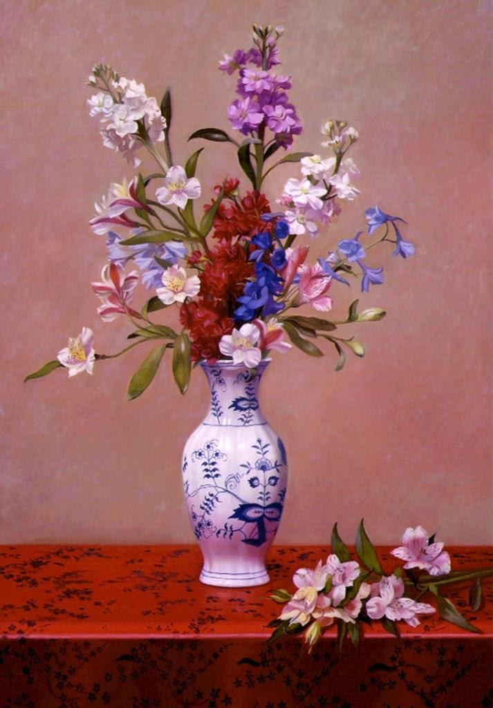 oleos-con-flores-y-jarrones