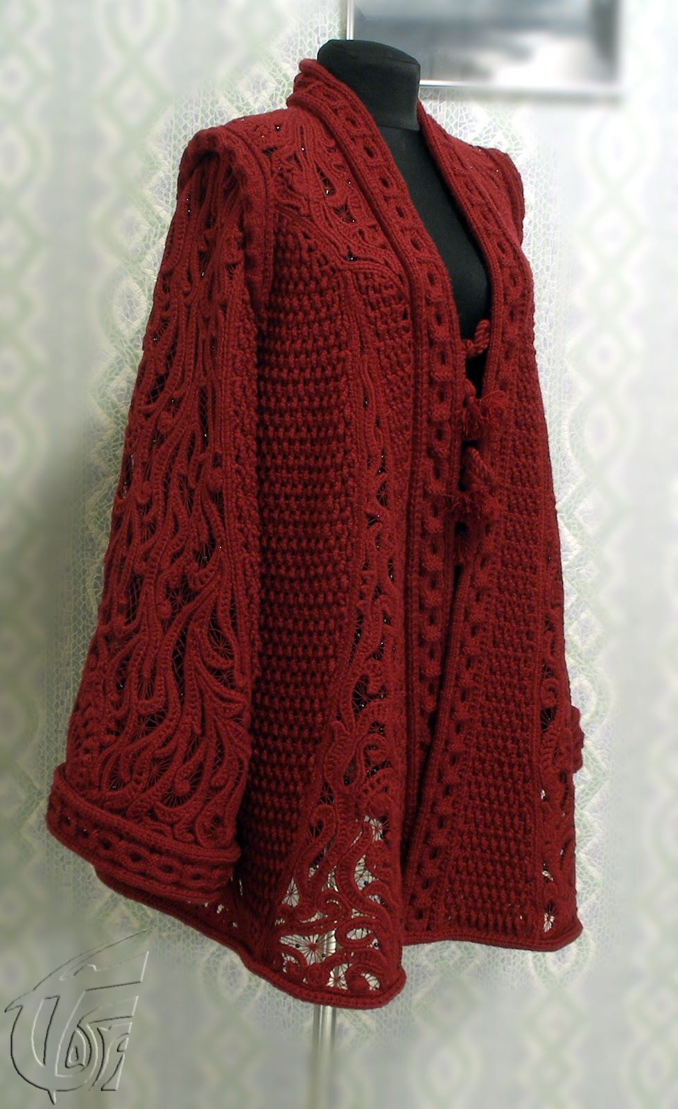 Free Patterns Crochet Jackets : Crochet Coat on Pinterest