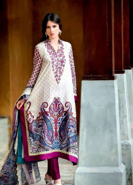 Digital Silk Collection by Gul Ahmed