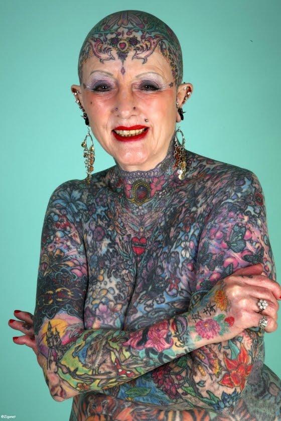 World's Most Tattooed Women