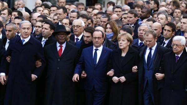 11 janvier à Paris et Golden Globes 2015