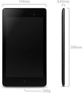 Nexus 7 Specifications